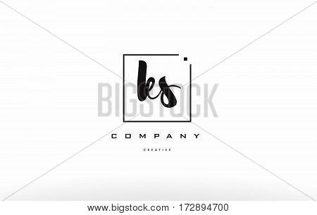 Ks K S Hand Writing Letter Company Logo Icon Design
