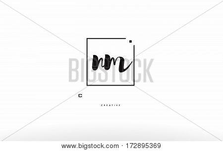 Ni N I Hand Writing Letter Company Logo Icon Design