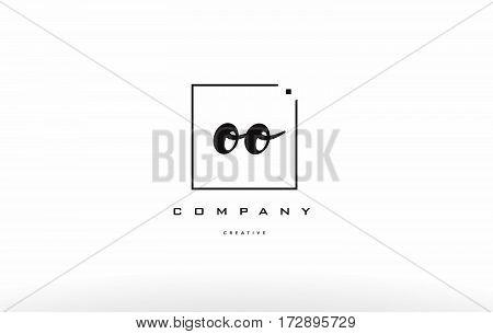 Oo O Hand Writing Letter Company Logo Icon Design