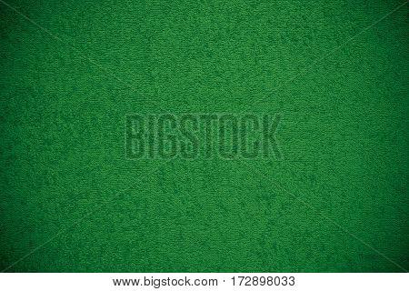 Green Canvas Fluffy Texture