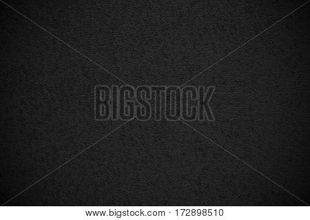 Black Canvas Fluffy Texture