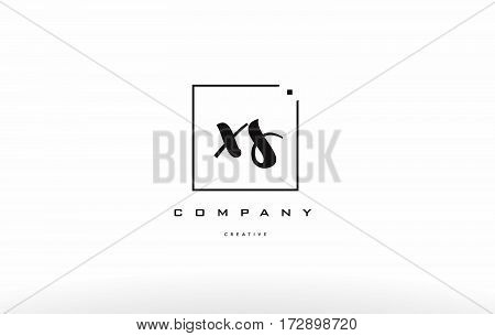 Xs X S Hand Writing Letter Company Logo Icon Design