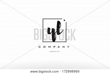 Yl Y L Hand Writing Letter Company Logo Icon Design