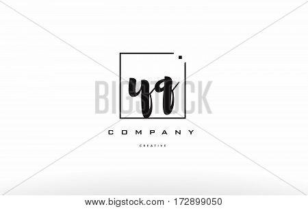 Yq Y Q Hand Writing Letter Company Logo Icon Design
