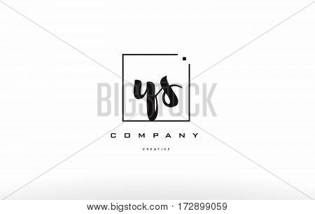 Ys Y S Hand Writing Letter Company Logo Icon Design