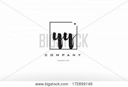 Yy Y Hand Writing Letter Company Logo Icon Design