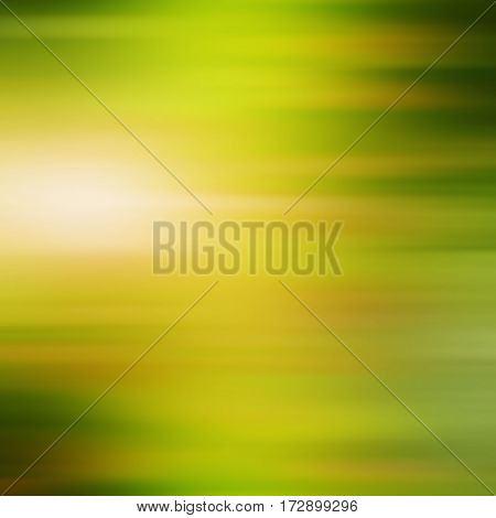 Abstract blurred green background for spring time