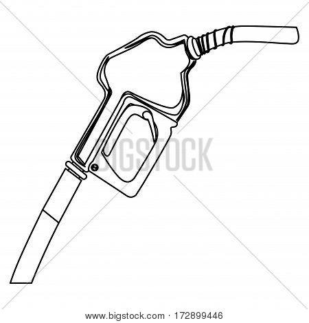 nozzle of gas icon stock, vector illustration design image