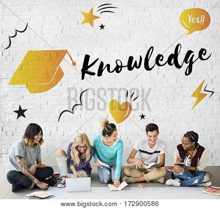Education Graduation Cap Graphic Concept