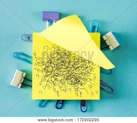 Doodle On A Sticky Note