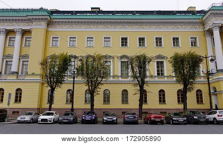 Old Buildings In Saint Petersburg, Russia