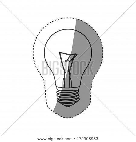 save bulb icon image, vector illustraton design