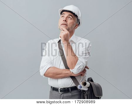 Thoughtful Construction Engineer