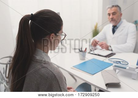 Patient In The Gp's Office