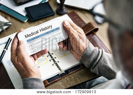 Medical Examination Report History Online