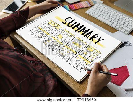 Creativity Planning Summary Diagram Chart