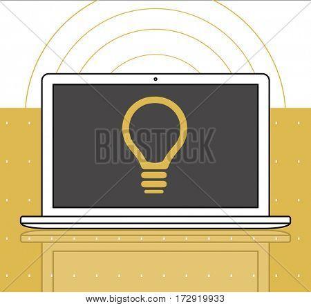 Lightbulb Idea Creativity Graphic Symbol Icon
