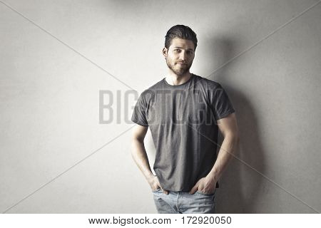 Posing for a portrait