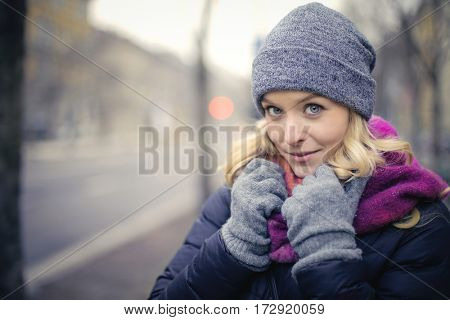 Cold winter day
