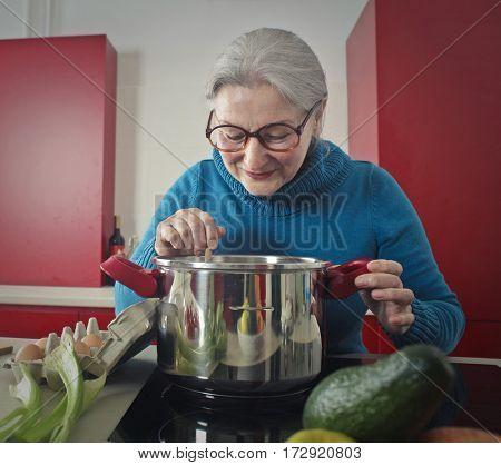 Preparing a tasty meal