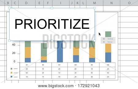 Prioritize Effectivity Important Rank Tasks Urgent poster