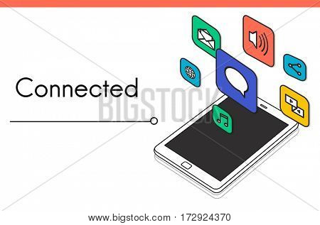 Get In Touch Connection Online Icon