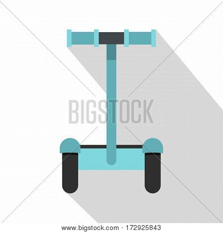 Modern ecological transport icon. Flat illustration of modern ecological transport vector icon for web isolated on white background