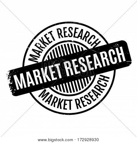 Market Research rubber stamp. Grunge design with dust scratches. Effects can be easily removed for a clean, crisp look. Color is easily changed.