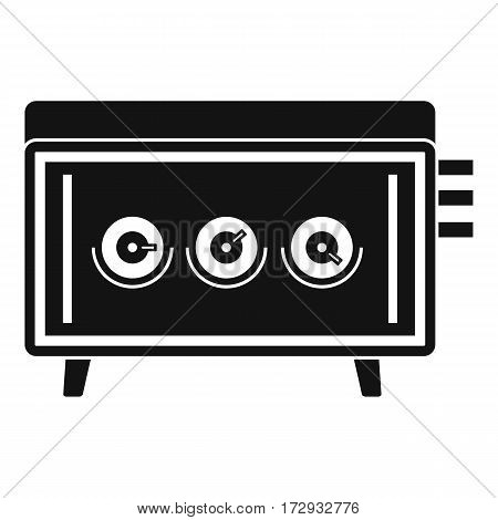 CD changer icon. Simple illustration of CD changer vector icon for web