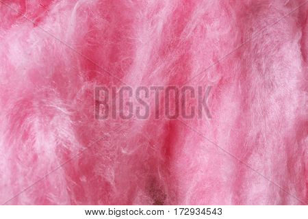 Sweet cotton candy, closeup