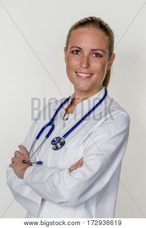 friendly female doctor