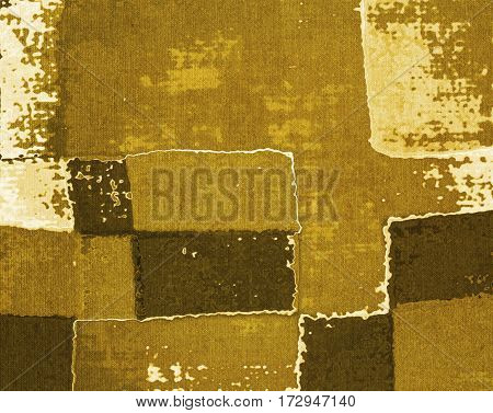 Vintage abstract sepia fabric texture or background.