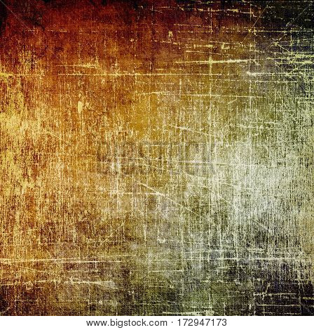 Vintage scratched texture background. Sepia and red tones.