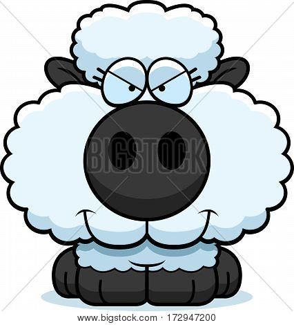 Cartoon Sly Lamb