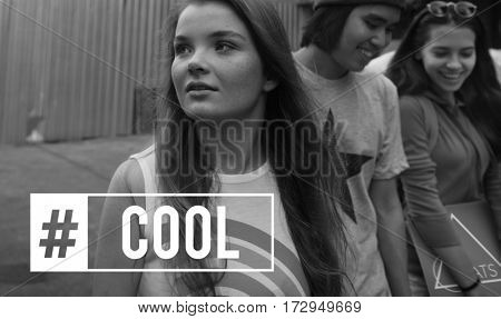 People Awesome Fabulous Cool Word