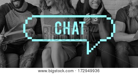 Chat Message Speech Bubble Communication