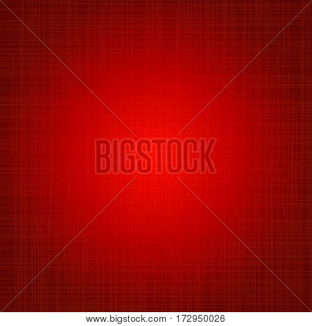 Red cloth texture background. Book cover. Fabric bright ecological canvas wallpaper with striped pattern.