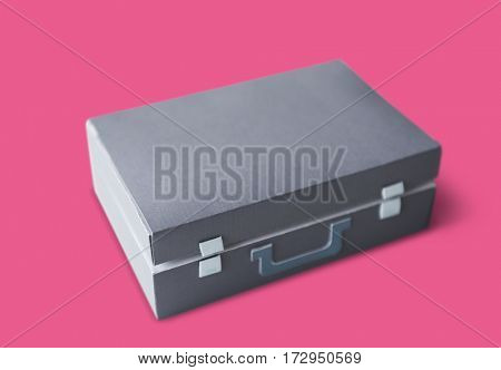 Briefcase Isolated Background Business Bag