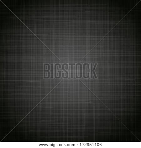 Black cloth texture background. Book cover. Fabric bright ecological canvas wallpaper with striped pattern.