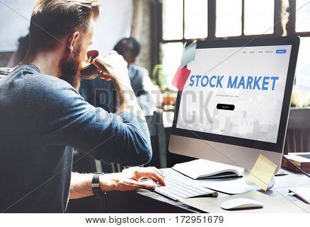 Stock Market Trade Finance Exchange Forex Concept