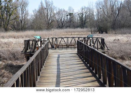 Thematic bridge Zrinski - Sulejman Kopacki rit