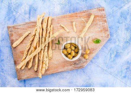 Lunch Or Snack In The Italian Style