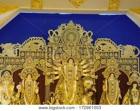 Famous Durga Pooja in Kolkata, taken in Kolkata