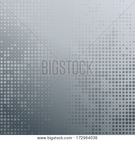 Vector illustration with four halftone patterns. Colorful abstract vector background.