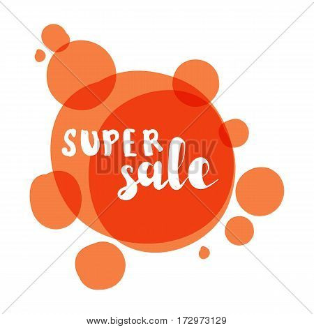Flat color circle design big sale stickers. Vector illustrations for online shopping product promotions website and mobile website badges ads print material.
