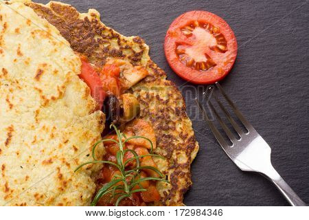 Potato Pancake With Goulash
