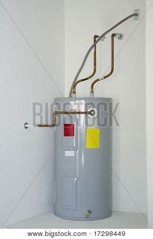 Insulated Residential Smart Energy Electric Water Heater poster