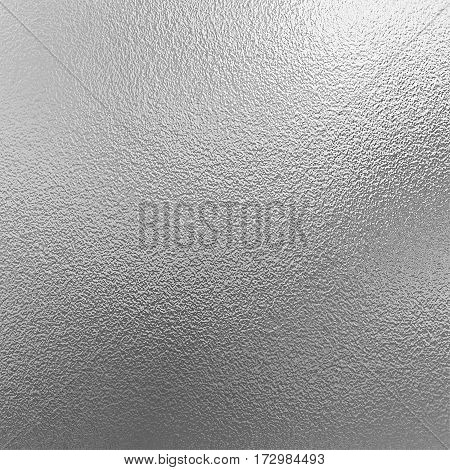 Shiny Silver foil background. Sheet of metal decorative texture