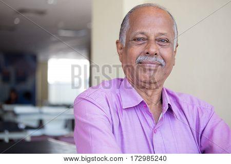 Confident Elderly Man