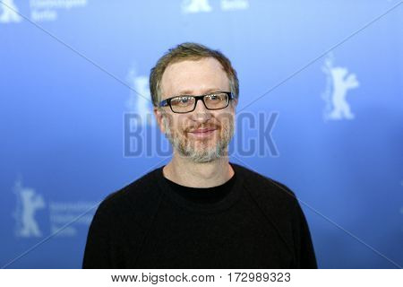 Film director James Gray attends the 'The Lost City of Z' photo call during the 67th  Film Festival Berlin at Grand Hyatt Hotel on February 14, 2017 in Berlin, Germany.